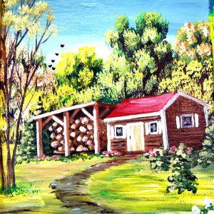 Peintures sur toile et autres supports
